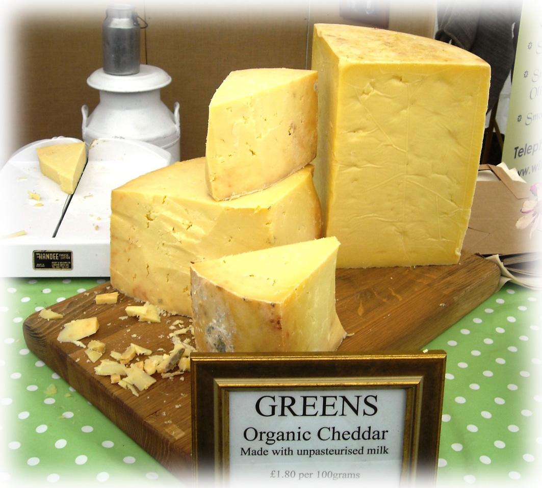 Green's Organic Cheddar