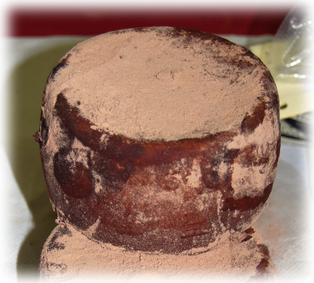 Queso Curado con Cacao