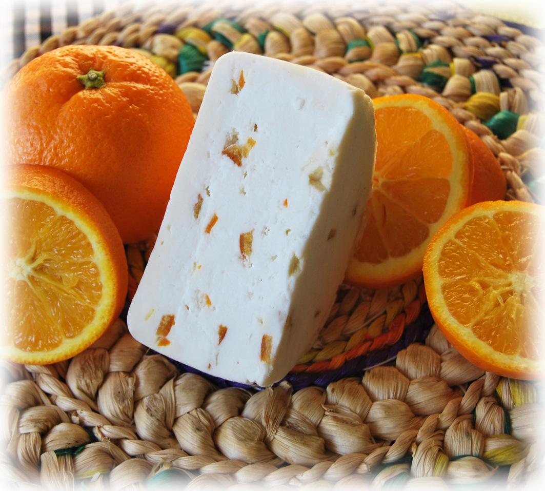 Queso con Naranja