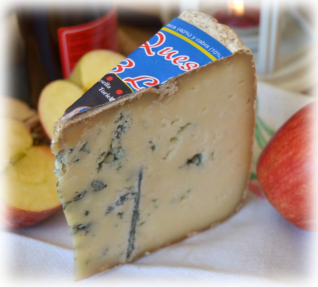 Queso de las 3 leches azul de Pría